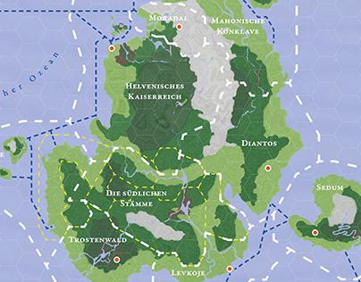 Maps of Ostrea (work in progress)