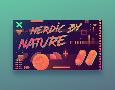 Retro Gaming | Graphic Design Illustration