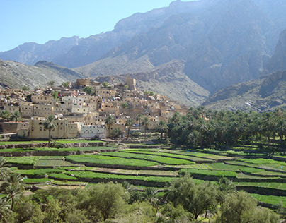 The amazing wonders of the Hajar Mountains in Oman