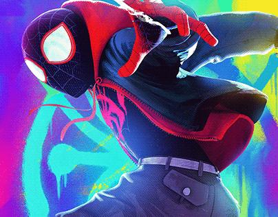 SpiderMan into the Spider-Verse 2