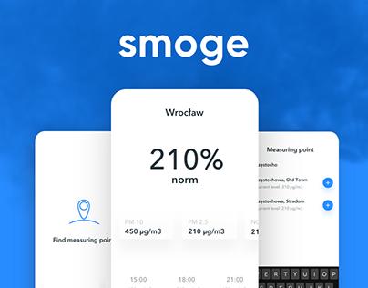 Smoge Mobile App