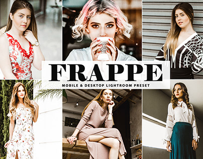 Free Frappe Mobile & Desktop Lightroom Preset