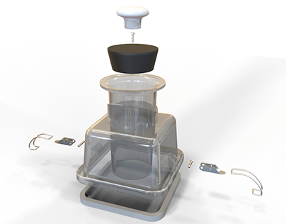 Modeled Object: Vitamix Action Dome