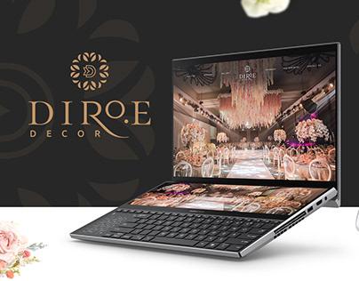 Diroe Website Development