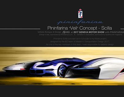 Pininfarina Concept Car SCILLA