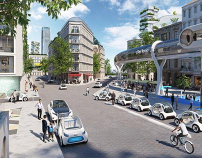 smart vision EQ fortwo - Future Urban Scenario