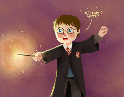 Harry Potter Redraw