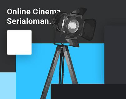 Serialoman. Redesign online cinema.