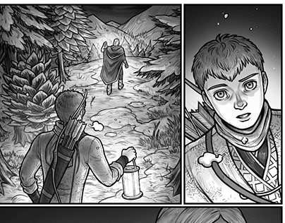 FIENDISH: Chapter 1, pages 1-4