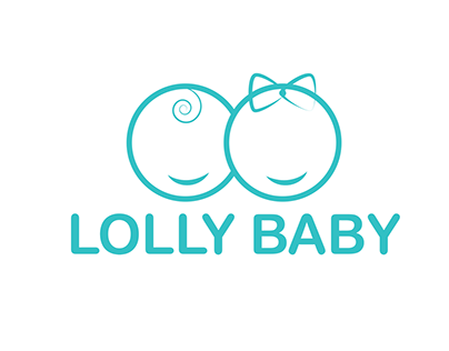 LOGO CONCEPT FOR A BABY PRODUCTS' BRAND - LOLLY BABY