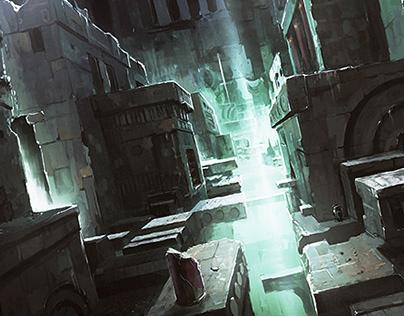 Game Illustration Concept Art