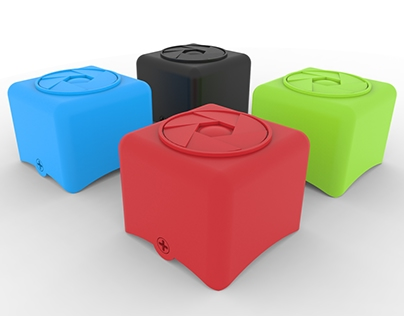 The Cube - SD card Holder