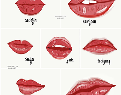 lip study | bts
