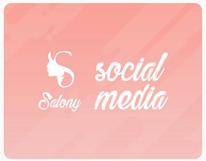 Social Media Salony app - ksa