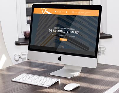 Web de Actual.cat para Gremi de Constructors Sabadell
