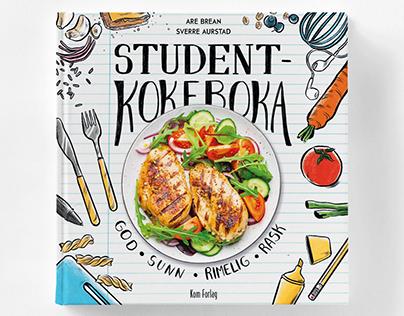Studentkokeboka, book design