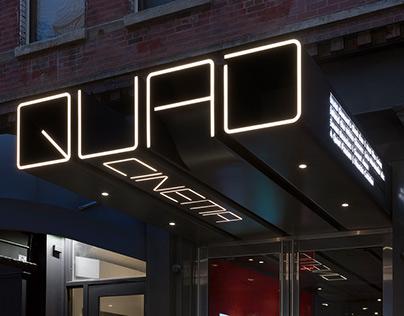 Quad Cinema - Identity and Wayfinding Design