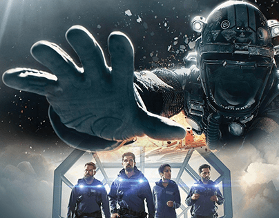 3D Animated Title Sequence of The Expanse Reimagined