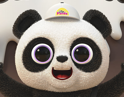 PANDA ICE CREAM 3D