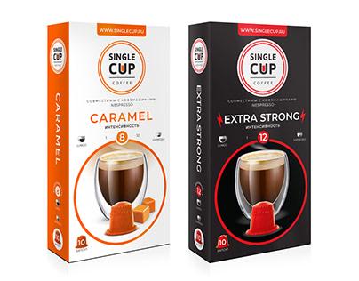 Single Cup Coffee. Обновленный дизайн упаковки