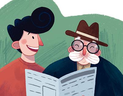 """Revista Sorria: """"como interagir melhor com os idosos"""""""
