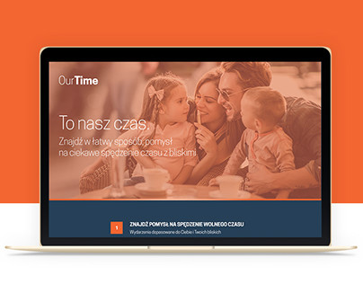 OurTime | Landing page