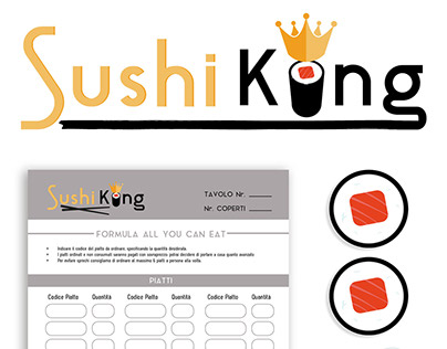 Sushi All you can eat - logo + menù