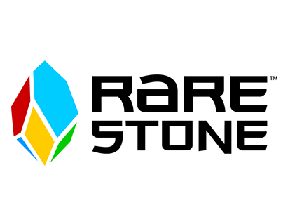 Rarestone Gaming logo design and branding