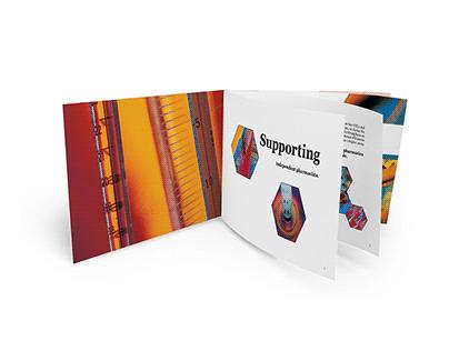 Layout Design - Pharma Care Brochure