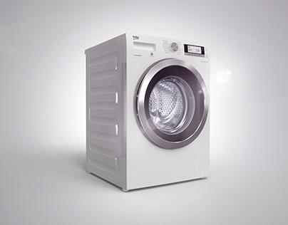 Beko Washing Machine Range || Full CGI