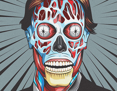 They Live (Glow in the dark Print)