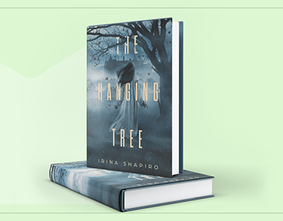 """Book cover design for """"The Hanging Tree"""""""