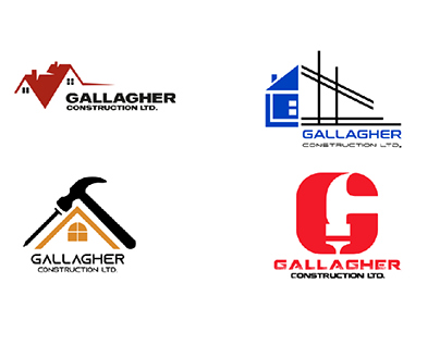 Logos for a new construction business