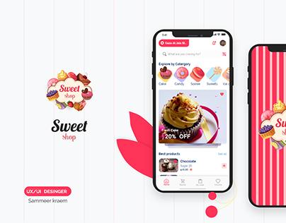 UX/UI E-commerce sweet app