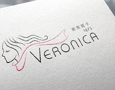 薇諾妮卡 Veronica │ 品牌視覺設計 Visual Identity design