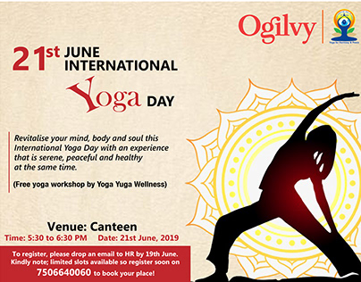 International Yoga Day- Ogilvy and Mather