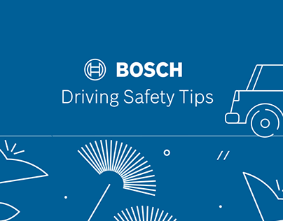 BOSCH AA driving safety tips