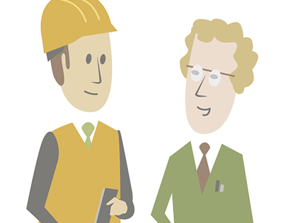 Corporate IT-Illustrations
