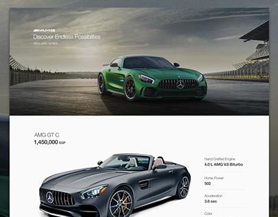 Automotive Landing Page