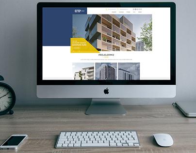 Öztep İnşaat - Web Tasarımı
