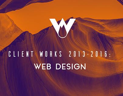 Client Works: 2013-2016 Web Design