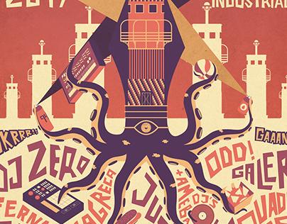 AMEBA PARKFEST 2017 - Electronic music festival