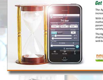eMarketing Communications - Agilent LC Calculator