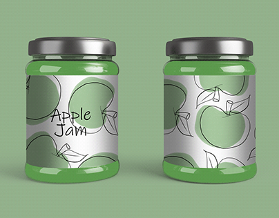 Tasty designs for a jam jar