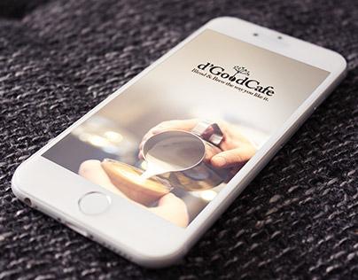 Coffee Shop App UX UI Design