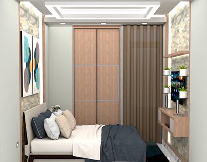 Habitacion elegante y confortable