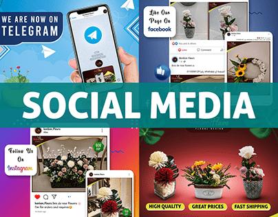 Bonbon Fleurs (Social Media)
