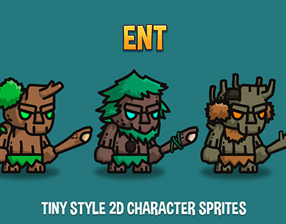 Ent Tiny Style 2D Sprites