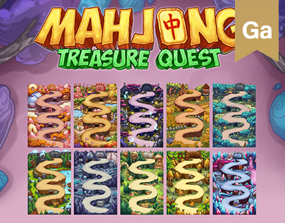 "Game locations for ""Mahjong Treasure Quest"" (Part 1)"