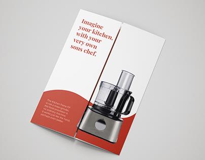 Product Brochure: Food Processor
